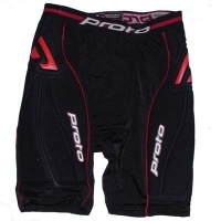 Защитные Шорты Proto Slider Shorts Defender Black
