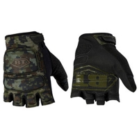 Перчатки BT Combat Glovers Half Finger ZE Woodland Digi